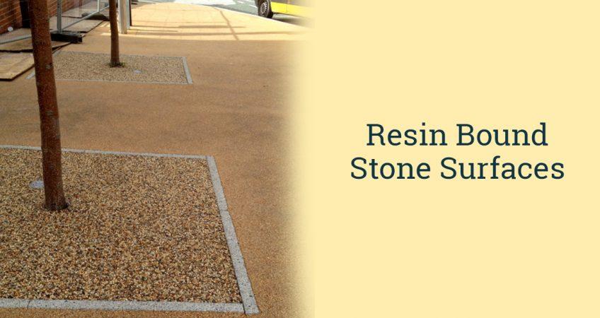 resin bound stone