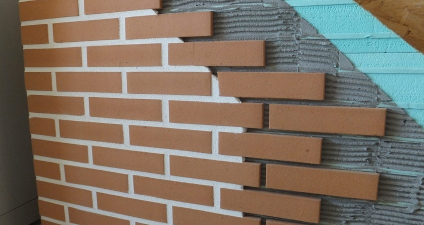 exposed brick cladding