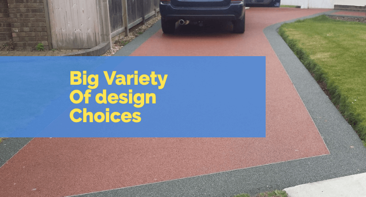 Resin Driveways Have a Huge Variety Of design choices