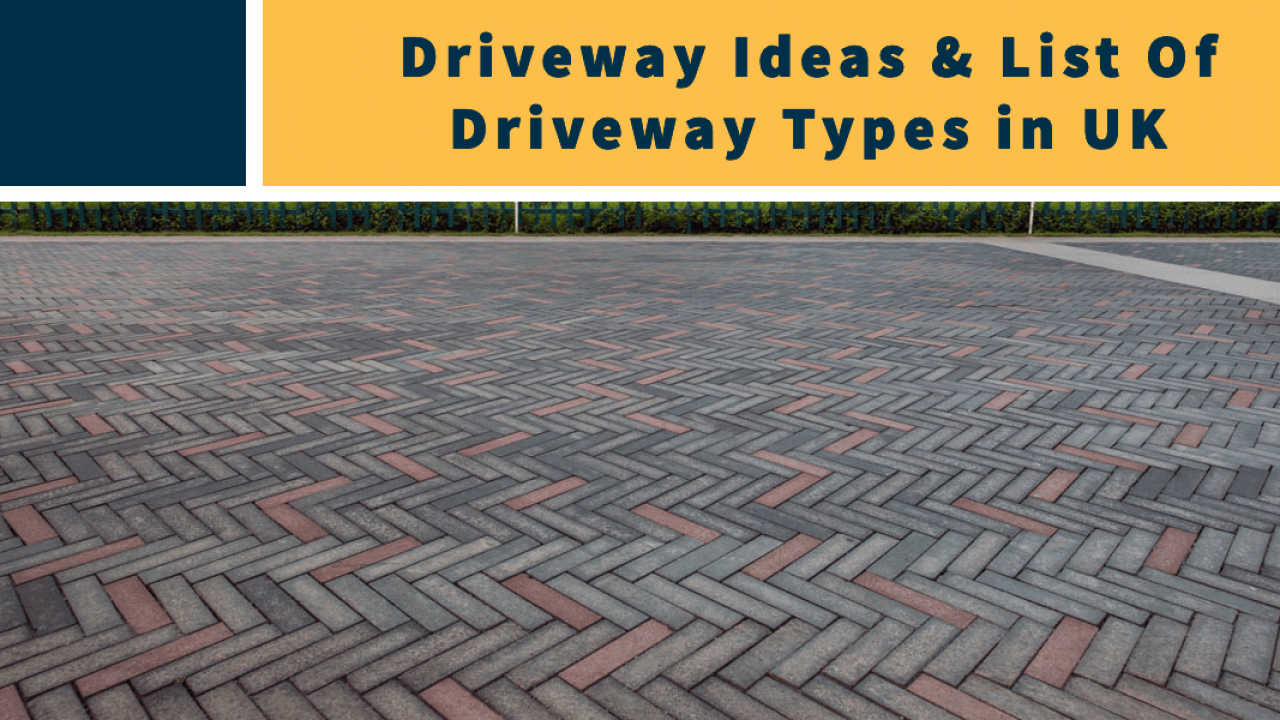 Driveway Ideas List Of Driveway Types In Uk Creative Paving