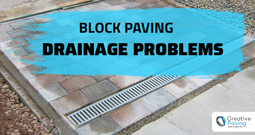 block paving drainage problems